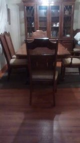 Dining Room Table, Chairs And China Cabinet In Joliet, Illinois