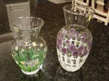 Vases- Hand painted in Plainfield, Illinois