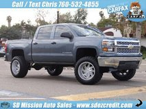 2014 Chevrolet Silverado LT Blue =BRAND NEW LIFT & WHEELS= Chevy in Camp Pendleton, California