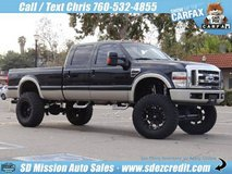 2008 Ford F-350 Super Duty Lariat Diesel 4x4 King Ranch = Huge Lift= in Camp Pendleton, California