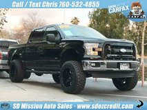 2017 Ford F-150 XLT Crew Cab Black =LIFTED= in Camp Pendleton, California