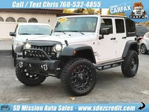 2016 Jeep Wrangler Unlimited Sport S White =LIFTED= in Camp Pendleton, California