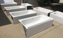 "Bathtub - Several To Choose From - New - 60"" Right & Left Drain in Oswego, Illinois"