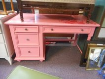 Shabby Chic Pink Desk in Elgin, Illinois