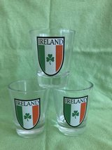 Lot of 3 Glass Ireland St.Patricks Day in Chicago, Illinois