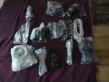 12 ASSORTED CORDS-PLUGS-CABLES-DON'T KNOW WHAT THEY ARE FOR in Chicago, Illinois