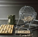 Bingo Game Set Metal Cage Wood Boards Balls & Chips Party Retro Game in Orland Park, Illinois
