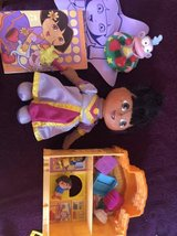 Dora toys lot all for $2.00 in Naperville, Illinois