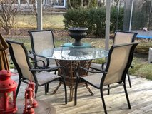 ~PATIO SET~TABLE AND FOUR CHAIRS in Bolingbrook, Illinois