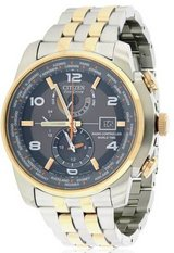 "Citizen Men's ""World Time A-T"" Stainless Steel Two-Tone Eco-Drive Watc in Plainfield, Illinois"