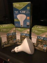 4 pack 12w led 65w equivalent soft white 2700k br30 dimmable flood light bulb in Fort Irwin, California