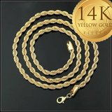 """New 14K Gold Filled Rope Chain 24"""" in Fort Drum, New York"""