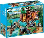 NEW! PLAYMOBIL Wildlife Adventure Tree House ~153pc Playset Ages 4+ in Orland Park, Illinois