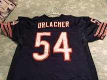 chicago bears brian urlacher authentic jersey reebok size 52 in Tinley Park, Illinois