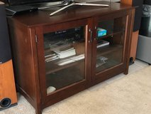 Crate&barrel Brown Wood TV Stand in Bolingbrook, Illinois
