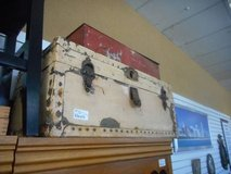 Rustic Metal Trunk in Elgin, Illinois