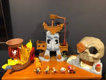 Jake and the Neverland Pirate Toys LOT in St. Charles, Illinois