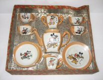 TOY CHINA TEA SET - Vintage / Antique - Pussy Willow - Japan - 15 Pcs. in Chicago, Illinois