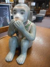Adorable Monkey Statue in Elgin, Illinois