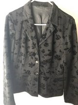 Women's black blazer size 4/6 in Aurora, Illinois