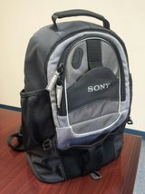 Sony Camera Video Camcorder DSLR Case Backpack in Yorkville, Illinois