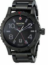 Nixon Diplomat Black Dial Stainless Steel Band Quartz Mens Watch A277- in Lockport, Illinois