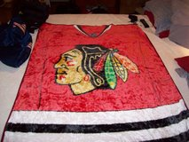 CHICAGO BLACKHAWKS FLEECE BLANKET in Orland Park, Illinois