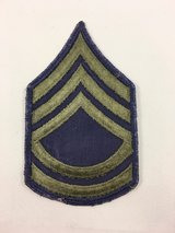 Army E-7 Sergeant FIrst Class subdued patch sew on in Quantico, Virginia