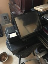 2 station POS with scale and receipt printer cash drawer in Clarksville, Tennessee