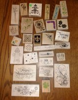 Rubber Stamp Lot Floral in Chicago, Illinois