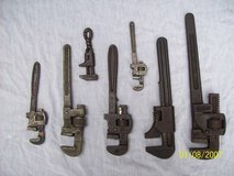 Antique Pipe and Monkey  Wrenches in Morris, Illinois