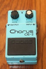 BOSS CE-2 Chorus Vintage Guitar Effects Pedal made in Japan MIJ in Kingwood, Texas