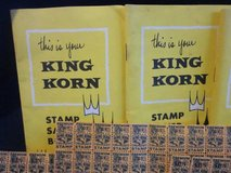 King Korn Trading Stamp Lot / Collection in Naperville, Illinois