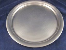 "KIRK PEWTER Round Tray 629 12.5"" diameter in Naperville, Illinois"