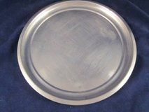 """WOODBURY PEWTERERS ATC Pewter Round Tray 12"""" diameter VINTAGE in Glendale Heights, Illinois"""