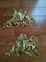 VINTAGE BRASS WALL PLAQUES in Lockport, Illinois