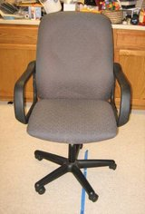 HON Fabric Desk Chair with Arms - Adjustable Height in Aurora, Illinois