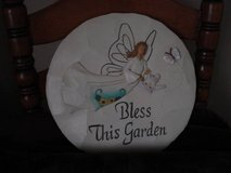 BLESS THIS GARDEN WALL PLAQUE (new) in Joliet, Illinois