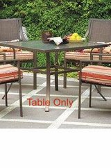 Alexandra Square Patio Dining Table (Brown) - NEW! in Naperville, Illinois