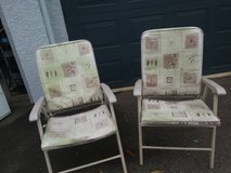 2 garden style padded lawn chairs In Fairfield on Saturday 6/16 in Fairfield, California