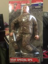 GI Joe doll USAF SF in Camp Pendleton, California