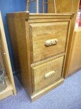 Wood File Cabinet in Elgin, Illinois