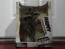 "McFarlane 's MILITARY ARMY PARATROOPER Action Figure Deluxe 30cm 12"" in Fairfield, California"