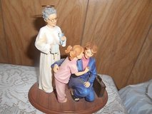 """ALMOST ANGELS Figurine! """"Forget thy work and labor with love.."""" by Kathy Riley in Spring, Texas"""