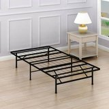 "SimpleHouseware 14"" Twin Size Foundation Platform Bed Frame - New! in Naperville, Illinois"
