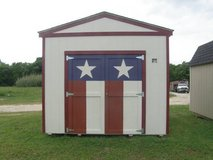 *** CUSTOMIZED ***  10x12 Utility Storage Shed in Conroe, Texas