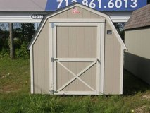 8x12 Barn Storage Shed in Conroe, Texas