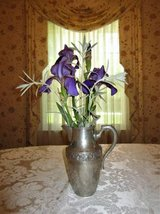 Vintage DRAGSTED 5 Cup PEWTER PITCHER Denmark Pours Well - Flower Vase in Brookfield, Wisconsin