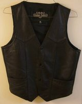 "New ""Leather Gallery"" Top-Grain Leather Vest - SIZE 40 in Pearland, Texas"