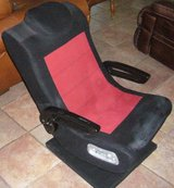 X-Rocker 2.1 Pedestal Gaming Chair - Buzzing Speaker in Pasadena, Texas